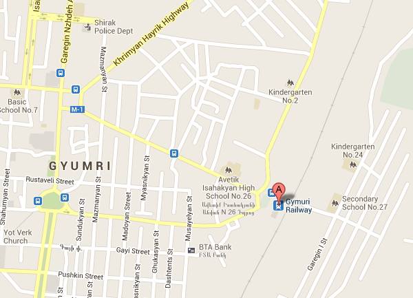 gyumri-train-station-map